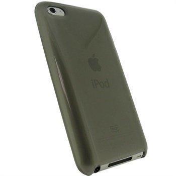 iPod Touch 4G iGadgitz TPU kuori Musta