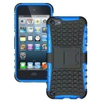iPod Touch 5G Anti-Slip Hybridikotelo Musta / Sininen