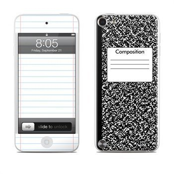 iPod Touch 5G Composition Notebook Skin