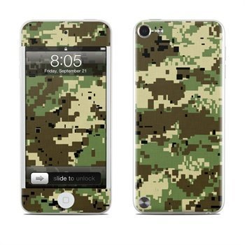 iPod Touch 5G Digital Woodland Camo Skin