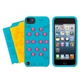 iPod Touch 5G Griffin FunkyTouch Silicone Case Pool Blue
