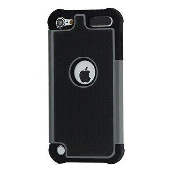 iPod Touch 5G Hybrid Suojakotelo Musta / Harmaa