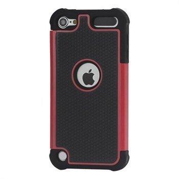 iPod Touch 5G Hybrid Suojakotelo Musta / Punainen
