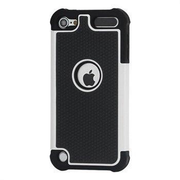 iPod Touch 5G Hybrid Suojakotelo Musta / Valkoinen
