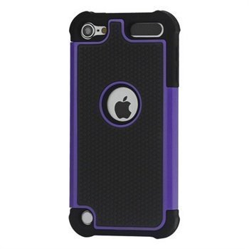 iPod Touch 5G Hybrid Suojakotelo Musta / Violetti
