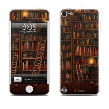 iPod Touch 5G Library Skin