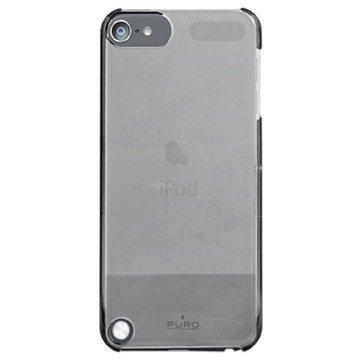 iPod Touch 5G Puro Kristallisuojakuori Musta