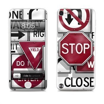 iPod Touch 5G Signs Skin