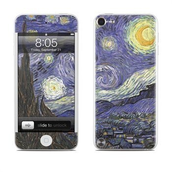 iPod Touch 5G Starry Night Skin