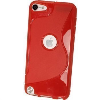 iPod Touch 5G iGadgitz Dual Tone TPU Case Red