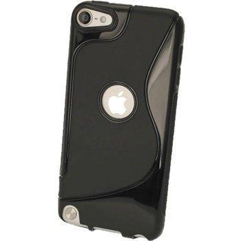 iPod Touch 5G iGadgitz Kaksivärinen TPU-Suojakotelo Musta
