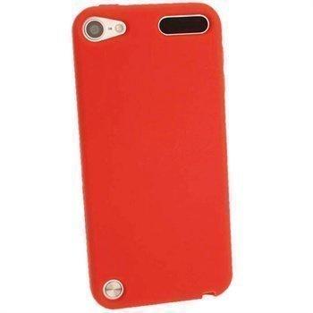 iPod Touch 5G iGadgitz Silikonikotelo Punainen