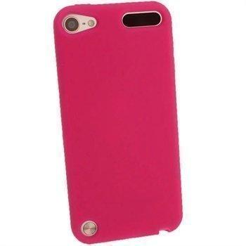 iPod Touch 5G iGadgitz Silikonikotelo Tumma Pinkki