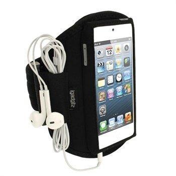 iPod Touch 5G iPod Touch 6G iGadgitz Neopreeni Käsivarsikotelo Musta