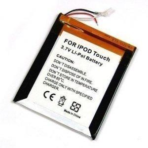 iPod Touch Yhteensopiva Akku Litiumpolymeeri