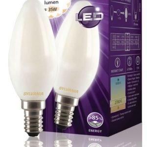 kynttilä Mat 400LM 827 LED-lamppu hehkulanka E14 4W