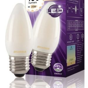 kynttilä Mat 400LM 827 LED-lamppu hehkulanka E27 4W