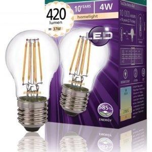 mainos- ja koristelamppu 420LM 827 LED-lamppu hehkulanka E27 4W