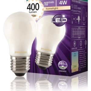 mainos- ja koristelamppu Mat 400LM 827 LED-lamppu hehkulanka E27 4W